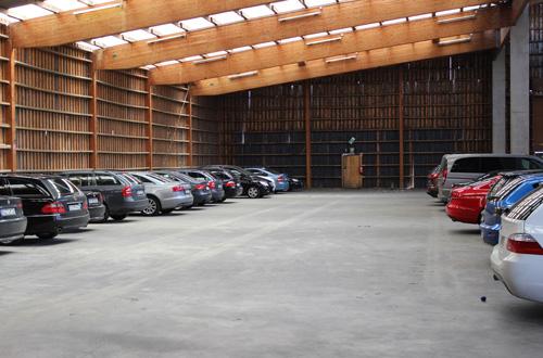 Cleverparks Parkplatz Düsseldorf