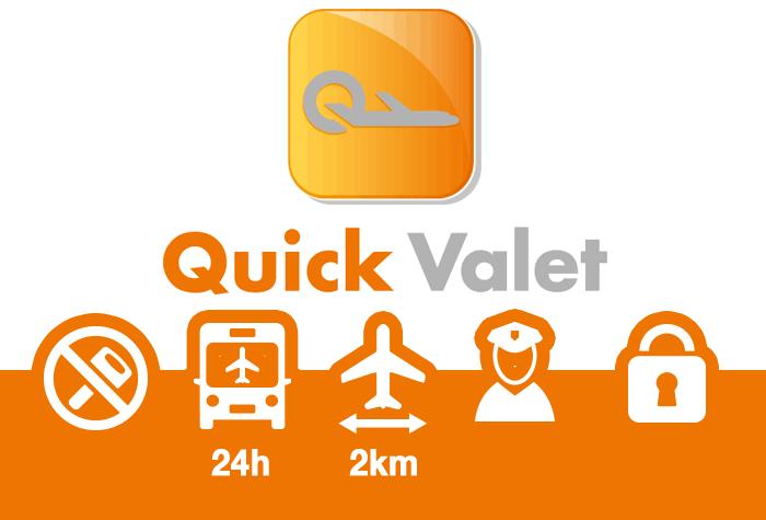 Quick Parking Schiphol Selbstparken