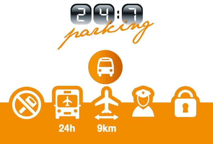 247 Parking Schiphol Parkplatz
