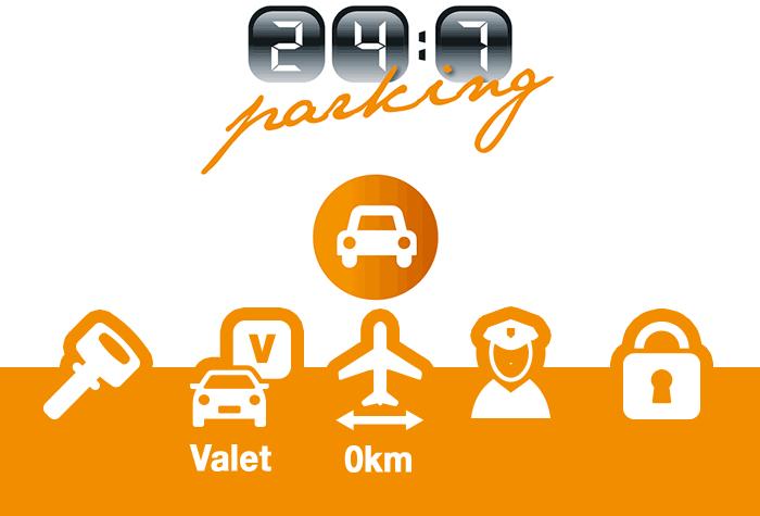 247 Parking Schiphol Parkplatz Valet