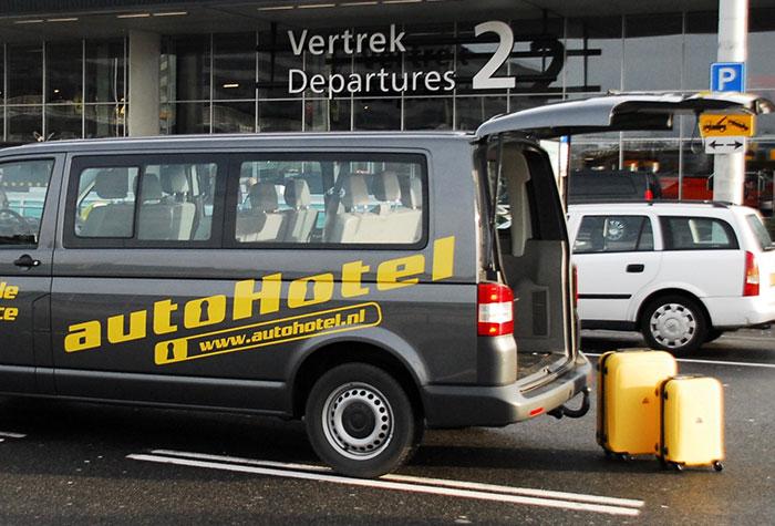AutoHotel Shuttle Amsterdam Parkplatz