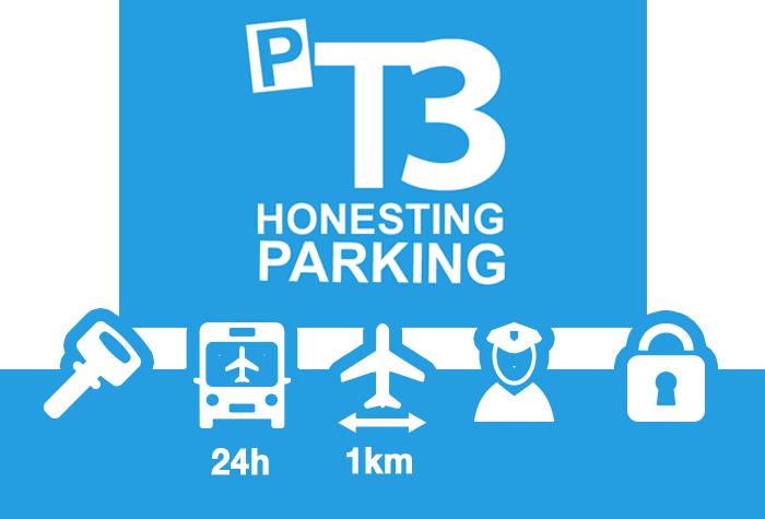 Barcelona Parking T3 Parkplatz Service Parken