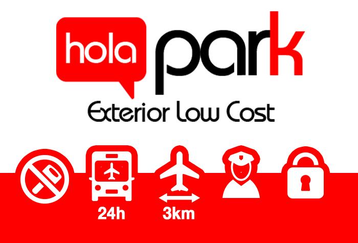 Holapark Barcelona Parkplatz