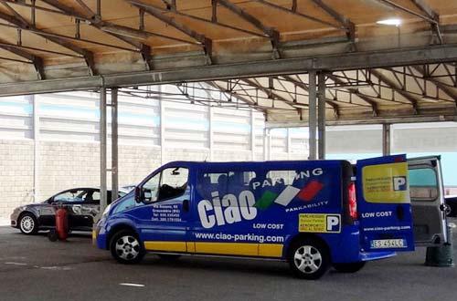 Ciao Parking Orio Bergamo Parkhalle