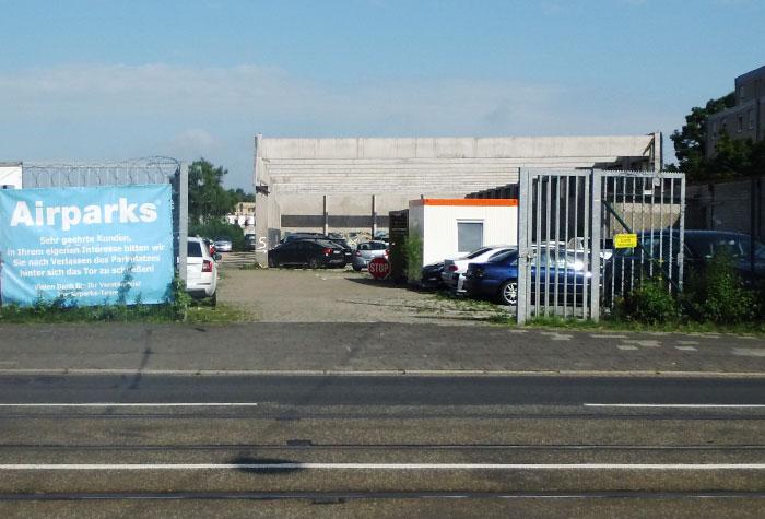 Airparks Parkplatz Bremen Flughafendamm