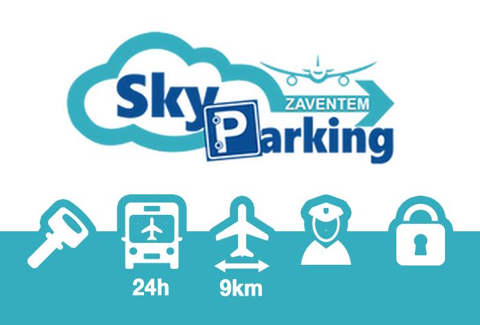 Sky Parking Parkplatz Zaventem