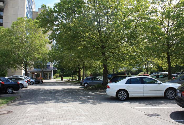 Parkplatz Carathotel Basel