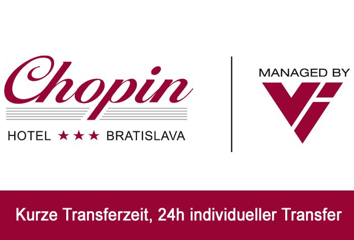 Chopin Hotel Parkplatz Bratislava