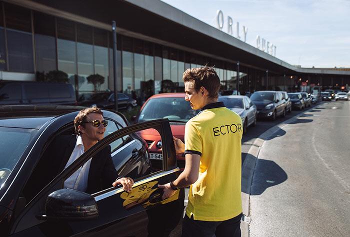 Ector Parkplatz Marseille Valet