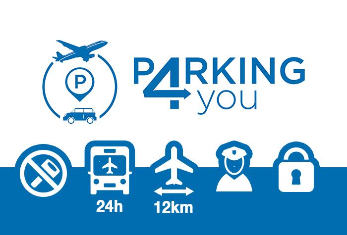 Parking4you Parkplatz CDG