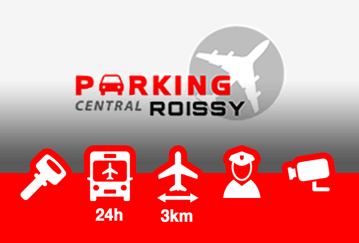 Parking Central Roissy Parkplatz