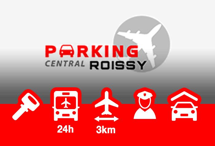 Parking Central Roissy Parkplatz