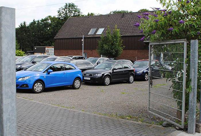 Sky-Autopark Parkplatz Köln Valet