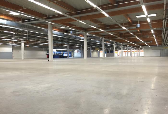 Starparking Parkhalle Malpensa