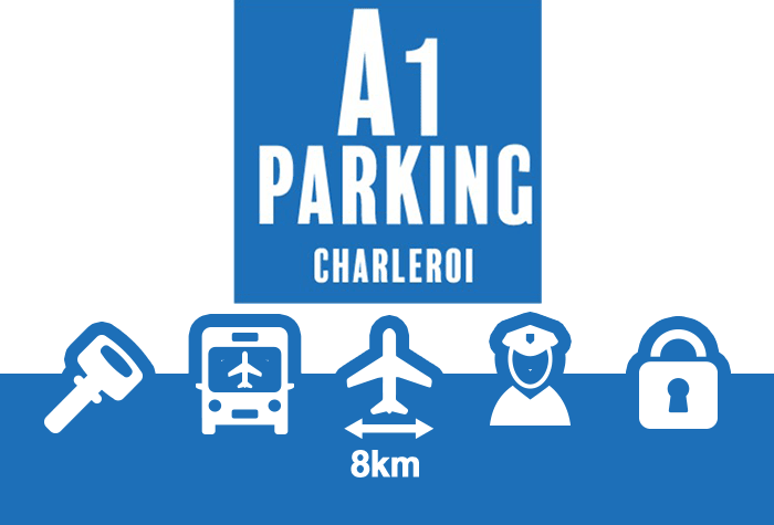 A1 Parking Parkplatz Charleroi