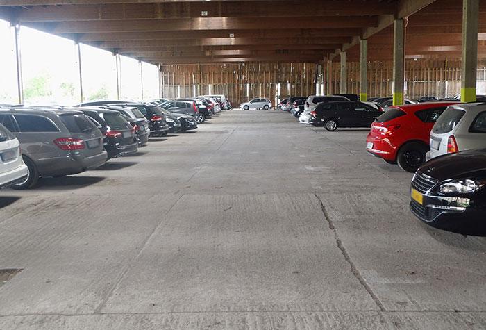 Primus Parken Parkhalle Düsseldorf