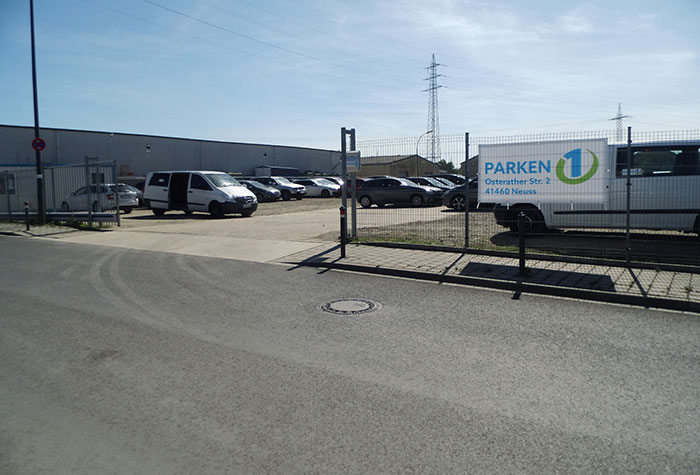 Parken1 Parkplatz Düsseldorf