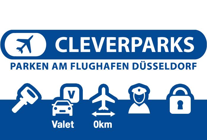 Cleverparks Parkplatz Valet Düsseldorf