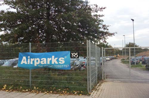 Bestpreis Airparks Parkplatz ServiceParken Düsseldorf