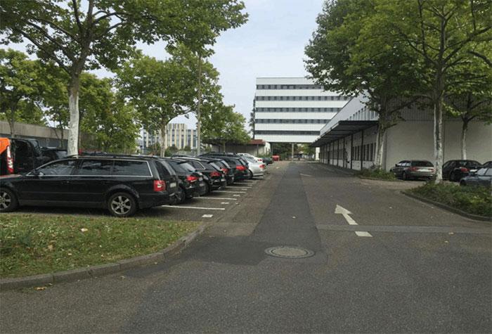ParKing Parkplatz Kreuzfahrt