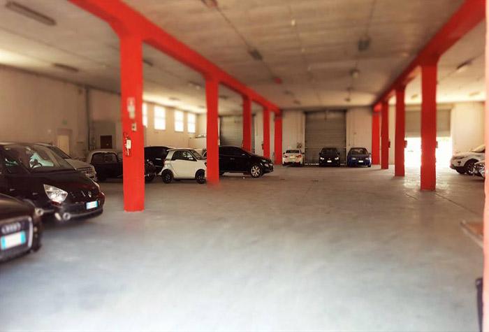 VIP Parking Parkhalle Fiumicino