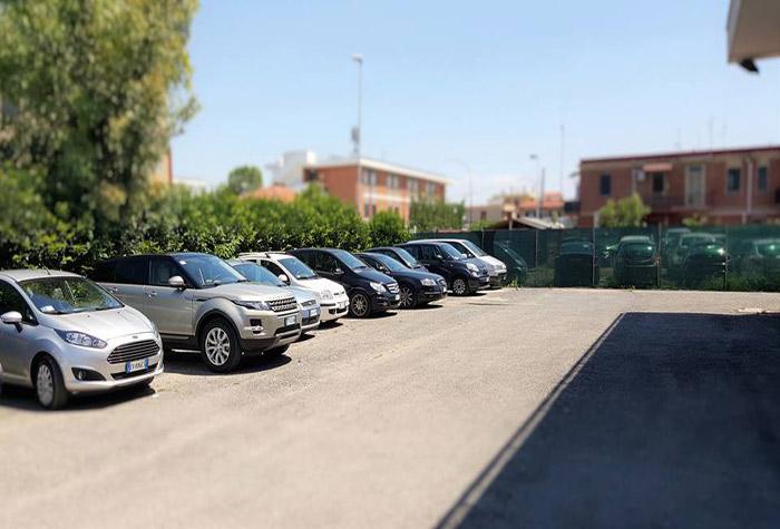 VIP Parking Parkplatz