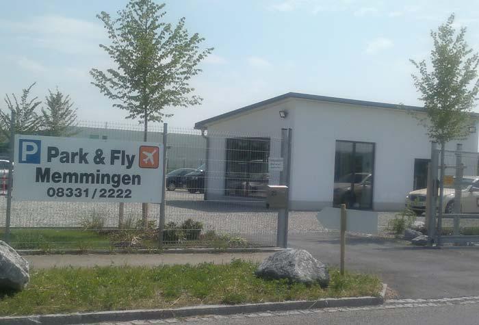 Park & Fly Parkplatz Memmingen