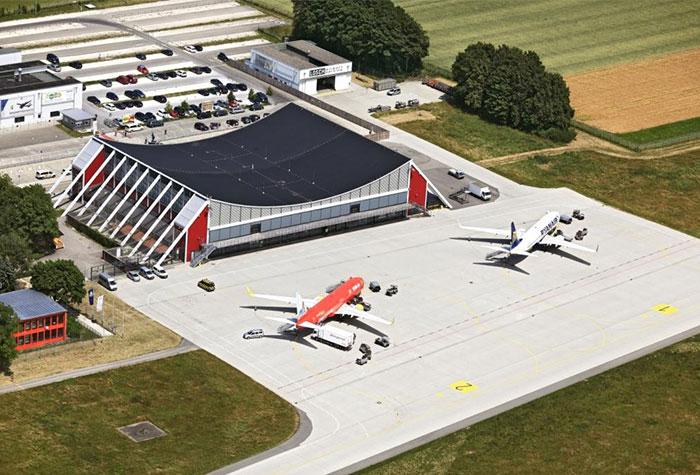 Allgäu Airport Parkplatz P11