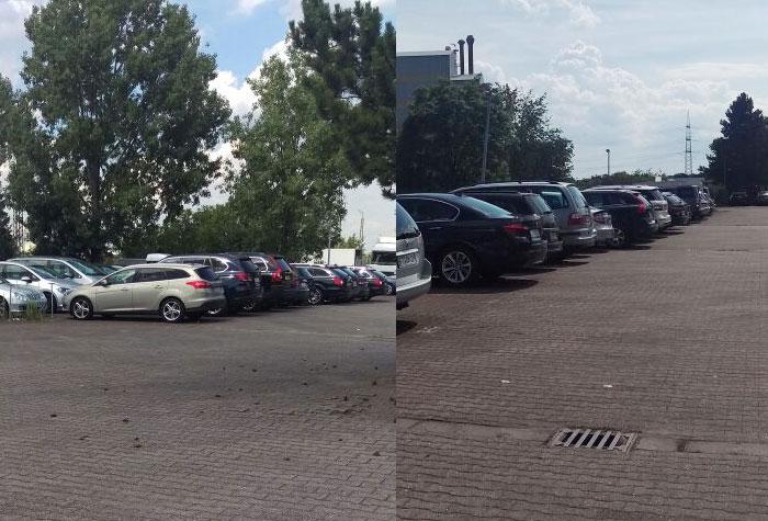 Frankfurt Parkservice Parkplatz Valet Parken