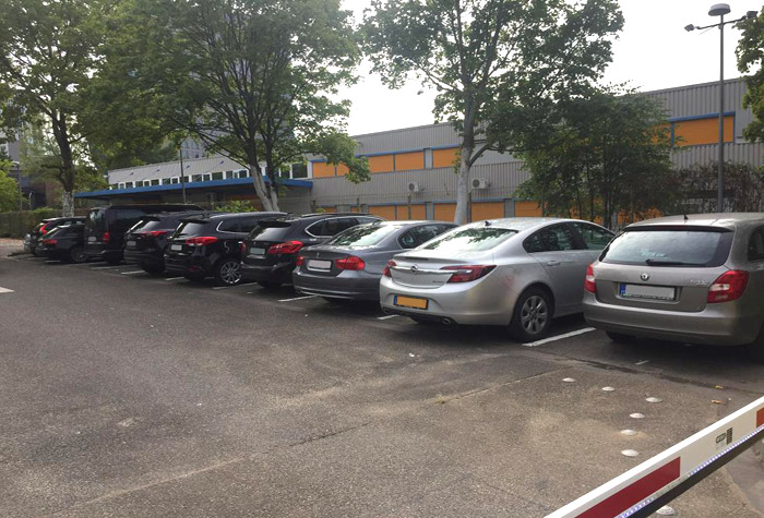 Messe Parking Service Parkplatz