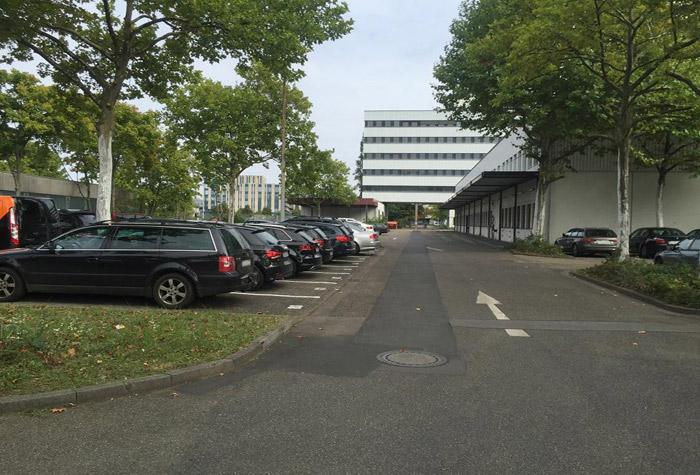ParKing Parkplatz Frankfurt
