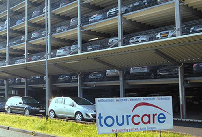 Tourcare Parkhaus Frankfurt Oberdeck 13+14