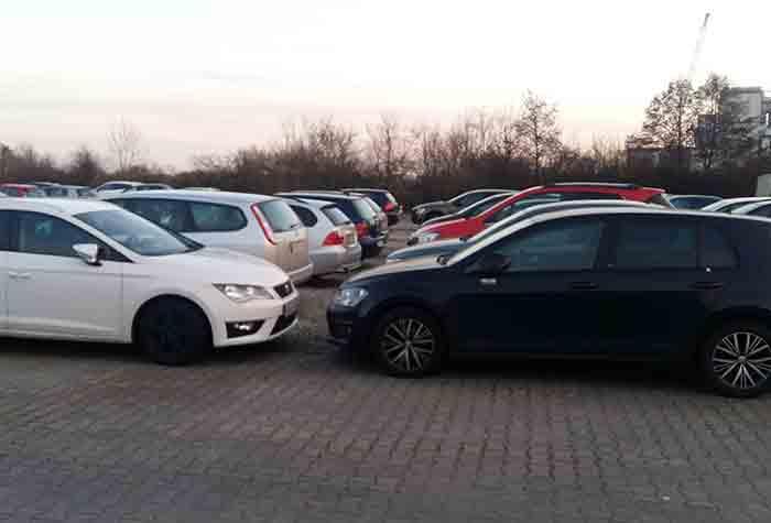 Sparparker Parkplatz Frankfurt