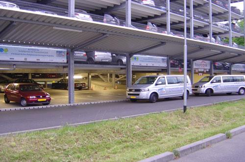 Tourcare Parkhaus Frankfurt