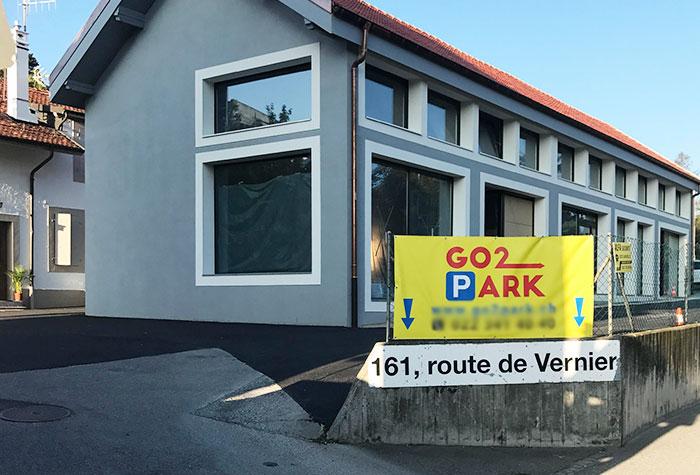 GO2PARK Parkplatz