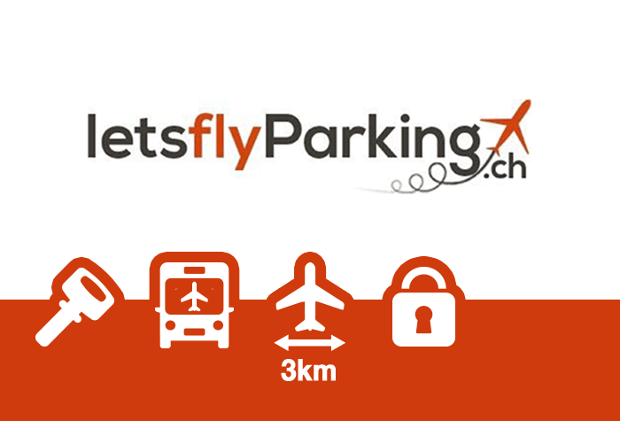LETS FLY PARKING Parkplatz Genf