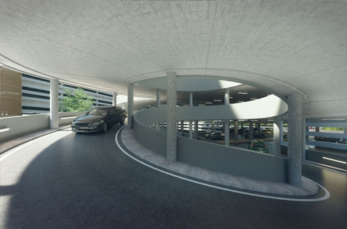 Hamburg Airport P1+2 direkt am Terminall
