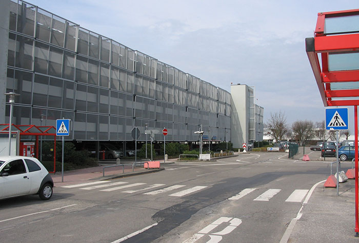 Hamburg Airport Parkhaus P8-9
