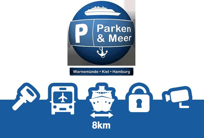 Parken und Meer Parkplatz Hamburg