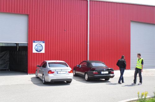 Parken und Meer Parkhalle Kiel