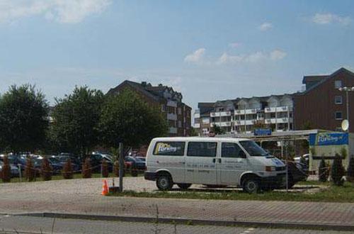 Airparks Parkplatz Leipzig