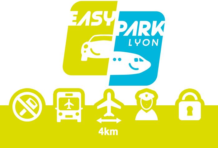 EASYPARK Lyon Parkplatz