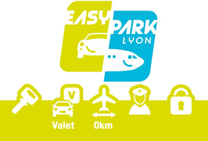 EASYPARK Lyon Parkplatz Valet