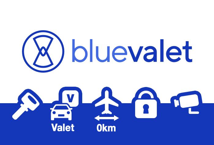 Blue Valet Parkplatz Lyon