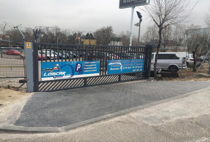 Parking Lomcar Parkplatz Madrid