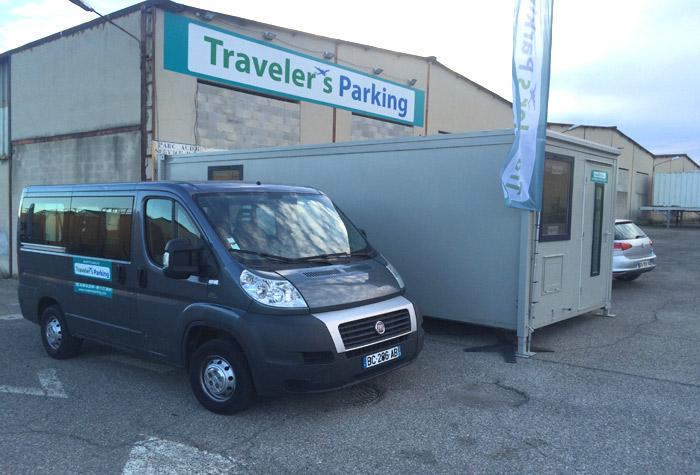 Traveler's Parking Parkplatz Marseille