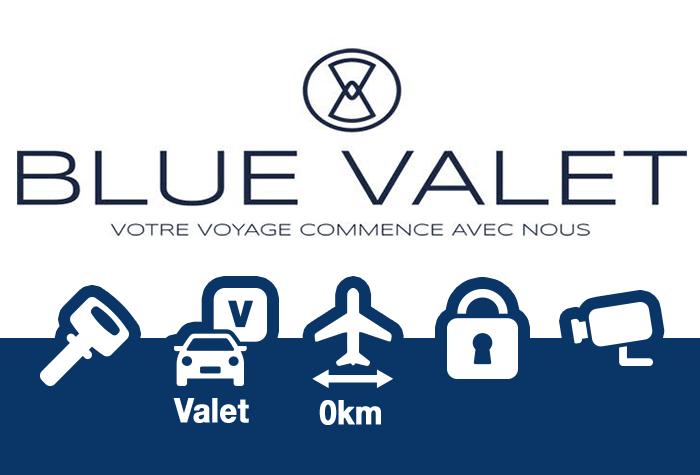 Blue Valet Parkplatz Marseille