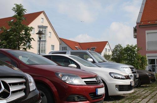 Parkplatz Regentpark Hotel