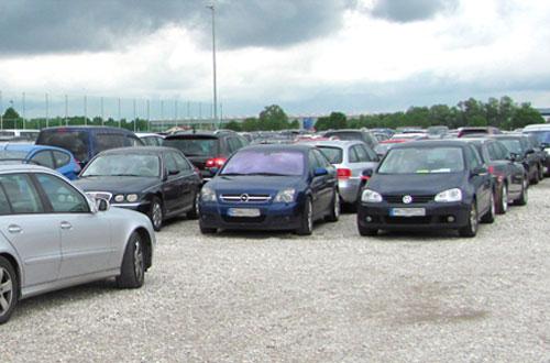 Airparks Parkplatz Muenchen Flughafen