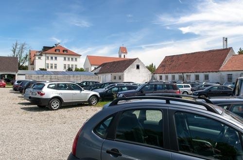 Ikarus Parkplatz München